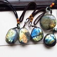 Natural Crystal Moonstone Raw Gemstone Healing Stone Labradorite Fish Tank Decor