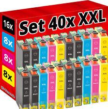 40 PATRONEN für EPSON WF3010DW WF3520DWF WF3530 WF3540-DTWF WF7015 WF7515 WF7525