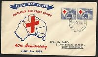 AFD461) Australia 1954 Australia Red Cross Society 40th Anniversary