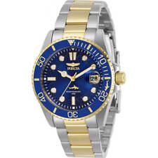 Invicta Women's Watch Pro Diver Quartz Blue Dial Two Tone Steel Bracelet 30481