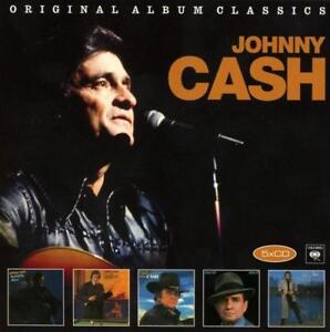 JOHNNY CASH - ORIGINAL ALBUM CLASSICS  5 CD NEW+