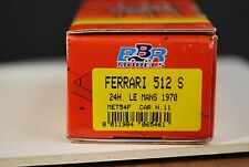 FERRARI 512S Coda Lunga - #11 NART  - LeMans 1970 - Kit -BBR- 1/43
