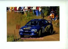 Juha Kankkunen Subaru Finland Rally 1999 Signed Photograph