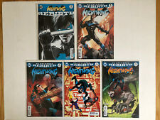 NIGHTWING Lot  #1-4 Run INCLUDES REBIRTH SPECIAL #1