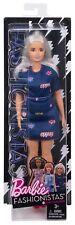 Barbie Fashionistas #63 Platinum Pop Doll, Curvy DYY93 *NEW*