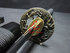 "30"" battle ready dragon tsuba japanese wakizashi sword very sharpened"