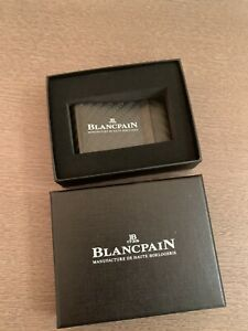 BLANCPAIN CARBON FIBER MONEY CLIP NEW IN THE BOX
