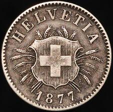 More details for 1877 | switzerland 5 rappen | billon | coins | km coins