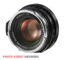 Voigtländer Nokton 1:1,4/40 mm S.C. Leica/VM schwarz