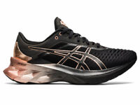 Asics Women Shoes Running Training Athletics Sports Gym NOVABLAST Platinum New