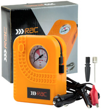 RAC 12v Car Motorcycle Motor Bike Compact Mini Tyre Air Compressor Inflator K2