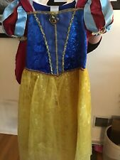 Official Disney Snow White Girls Size 7/8 Dress Up Outfit