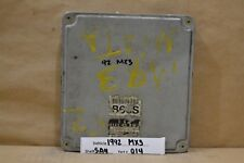 1992-1993 Mazda MX3 MX-3 Engine Control Unit ECU B66S18881C Module 14 5A4