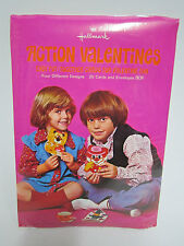 Vtg 1970's Pull Tab Action Hallmark Valentine Day Pop Up Cards 20 Pack Sealed