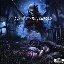 Nightmare - Avenged Sevenfold (2010, CD NUOVO) Explicit Version
