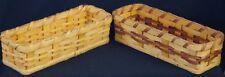 Authentic Handmade Wood Amish Small Cracker Basket