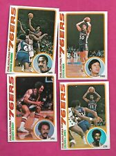 1978-79 TOPPS BASKETBALL PHILADELPHIA 76ERS  NRMT-MT  CARD LOT (INV# C3437)