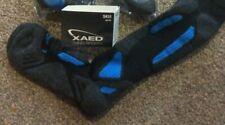 BNWT XAED Men's Ski Socks - Black/French Blue - Size 42/44