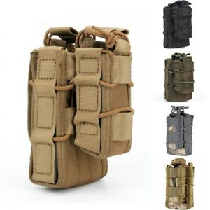 Tactical Pistol Mag Pouch Hunting Bag Open Top Molle Pouch Bag