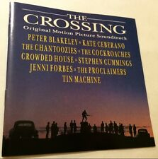 THE CROSSING Soundtrack CD 1990 oz MARTIN ARMIGER crowded house THE COCKROACHES