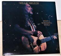 Willie Nelson - What A Wonderful World - 1988 LP Record Album - Vinyl Near Mint