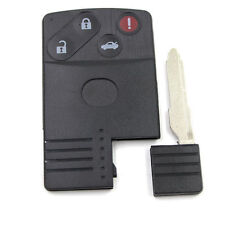 4 Buttons Smart Card Remote Key Shell Cover Fit for MAZDA 5 6 CX-7 CX-9 RX8