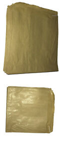 Brown Paper Bags Food Use Strung Sandwiches Groceries Fruit Flat Paper Bag