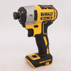 "DEWALT DCF887 20 Volts Max Lithium Ion 1/4"" Brushless Cordless Impact Driver Kit"