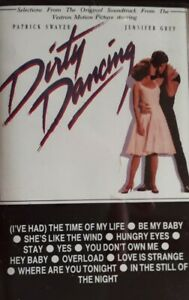 Dirty Dancing Original Soundtrack Cassette.1987 RCA BK86408.The Time Of My Life+