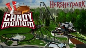 Hersheypark One Day Tickets - Exp 6/30/21 FREE SHIPPING