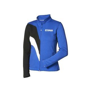 Genuine Yamaha Paddock Blue Ladies Zipped Sweater Jacket NEW