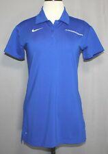Nike Dri-fit NCAA Championships Logo Blue Polo Women's Size Small
