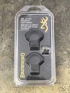 """Browning BAR/BLR Integrated Scope Mount System for STD 1"""" Matte 12377"""