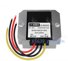 Waterproof Buck Converter Step Down Module Power Supply 36/48V to 24V 3A 72W