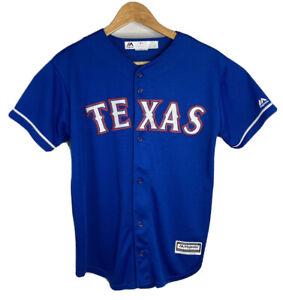 MLB Texas Rangers Jersey  Major League Baseball  Majestic Youth size XL