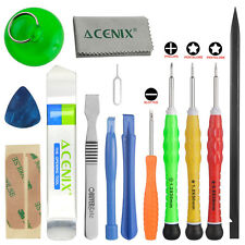 14 in 1 Complete Premium Repair Tool Kit for Apple iPhone Samsung Tablets