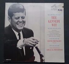 THE KENNEDY WIT-DAVID BRINKLEY, NARRATOR-SEALED LP-RCA RED SEAL