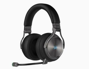 CORSAIR VIRTUOSO RGB CA-9011180-NA WIRELESS SE Gaming Headset — Gunmetal