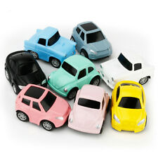 Mini Vehicle Pull Back Cars Bright Color+Traffic Sign+Map Creative Gifts For Kid