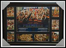 1997 & 1998 AFL Premiers Adelaide Crows AFL L/E Official Premiergraph Framed