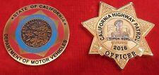 CALIFORNIA HIGHWAY PATROL SUPER BOWL & DMV COIN (CHP LAPD FBI