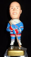 1997 SAM Mark Messier New York Rangers Bobblehead - Scarce Gold Base Version