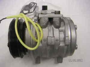 AC Compressor OEM Denso fits Geo Metro, Tracker / Suzuki Sidekick, Swift, ... QR