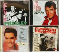 Elvis Presley 6 CD Lot Something for Everybody 1 2 S/T Xmas Million Dollar