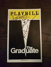 AUTOGRAPHED THE GRADUATE PLAYBILL Alicia Silverstone Kathleen Turner Jason Biggs