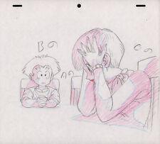 Dragonball Dragon Ball Z Anime Genga Copy Layout for Cel Krillin Bulma Toei