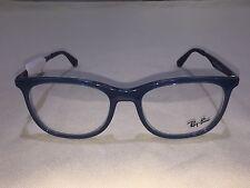 NEW Ray Ban RB7078 (8019) Transparent Light Blue 53[]18 145 Eyeglasses Frame