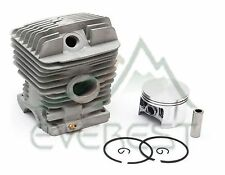New Stihl Cylinder Head Piston Kit MS290 MS390 49mm Piston Pin Rings Circlips