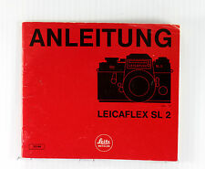 Original Leica Leicaflex SL 2 Instruction Manual in German - 40 pages