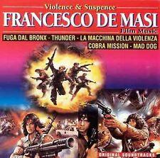 Violence and Suspense Film Music by Francesco De Masi (CD, Mar-1995, 1 Discs,...